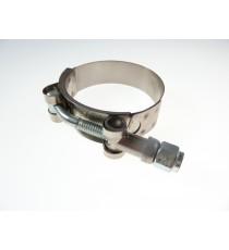 Abrazaderas acero inoxidable W4 reforzado para manguera de diámetro interior 76mm
