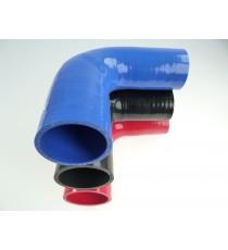 45-51mm Longitud 200mm - Reductor 90° de silicona - REDOX