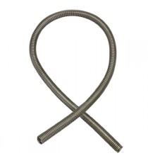 Tubo espiral inox diametro exterior 33mm espesor 0,28mm