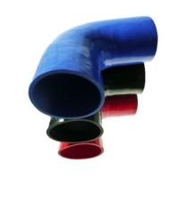 102mm - Codo 90° de Silicona - REDOX