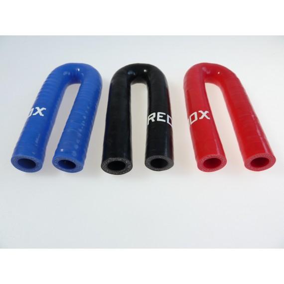 11mm - Codo 180° de Silicona - REDOX