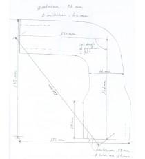 Manguera superio radiador de agua MAC CORMICK B414 serie 21638 de 1964 - REDOX