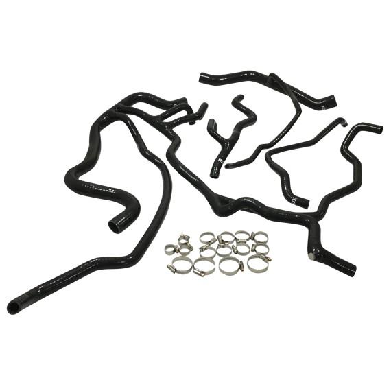 Kit 4 mangueras de agua de silicona RENAULT MEGANE III RS - REDOX