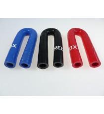 13mm - Codo 180 ° de silicona - REDOX