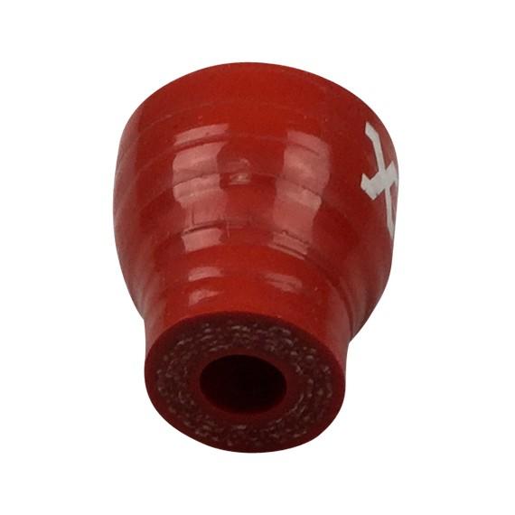 8-20mm Longitud 30mm - Reductor recto de silicona resistente de hidrocarburos - REDOX