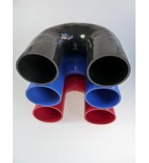 102 mm - 180 º Codo de silicona - REDOX