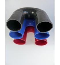 95mm - Codo 180 ° de silicona - REDOX