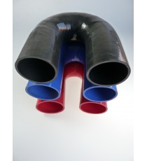 90mm - Codo 180 ° de silicona - REDOX