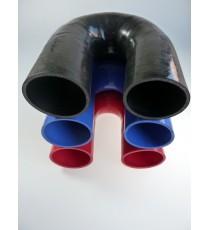 85mm - Codo 180 ° de silicona - REDOX