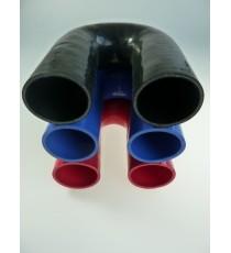 54mm - Codo 180° de Silicona - REDOX