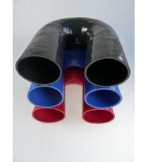 80mm - Codo 180 ° de silicona - REDOX
