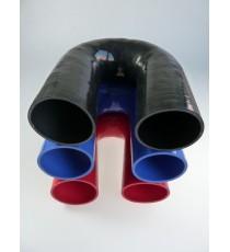 76mm - Codo 180 ° de silicona - REDOX