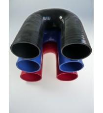 70mm - Codo 180 ° de silicona - REDOX