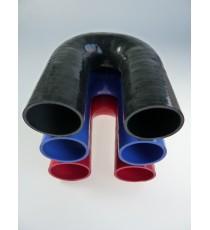 57mm - Codo 180 ° de silicona - REDOX