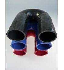 51mm - Codo 180 ° de silicona - REDOX
