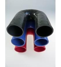 48mm - Codo 180 ° de silicona - REDOX