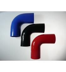 76 mm - 90 ° de silicona del codo - REDOX