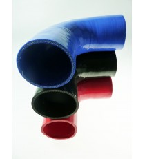 95mm - Codo 90 ° de silicona - REDOX
