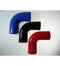 80 mm - 90 ° de silicona del codo - REDOX