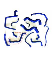 Kit 13 mangueras de agua de silicona RENAULT R21 2.0 TURBO - REDOX