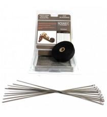 Titanio protección térmica codo 45° de silicona diametro 57 a 60mm