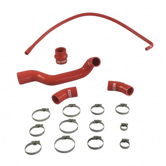 Kit 6 mangueras de agua de silicona REDOX RENAULT 25 BACCARA 2.8 V6 160cv