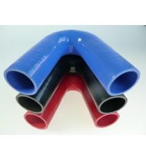 38mm - Codo 135 ° de silicona - REDOX