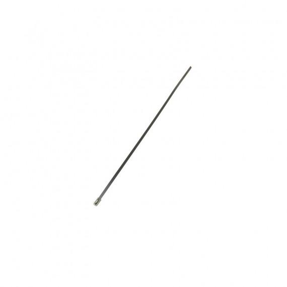 Collier serrage inox longueur 300mm pour bande/ruban isolant échappement