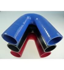 45mm - Codo 135 ° de silicona - REDOX
