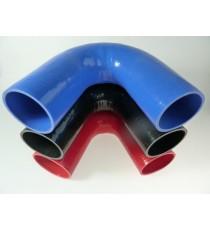 90mm - Codo 135 ° de silicona - REDOX