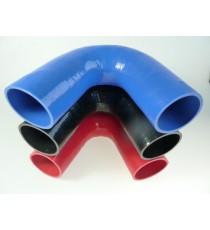 85mm - Codo 135 ° de silicona - REDOX