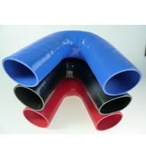 80mm - Codo 135 ° de silicona - REDOX
