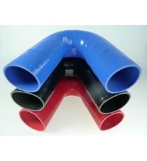 76mm - Codo 135 ° de silicona - REDOX