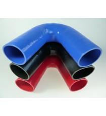 70mm - Codo 135 ° de silicona - REDOX