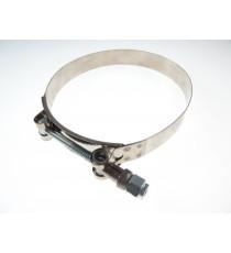 125mm - abrazaderas de acero inoxidable reforzado