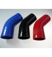 95mm - Codo 45° de Silicona - REDOX