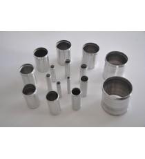 25mm - manga de 100mm de longitud de aluminio - REDOX