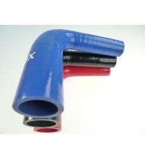 25-28mm - Reductor 90° de silicona - REDOX