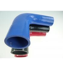 30-35mm - Reductor 90° de silicona - REDOX