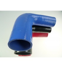 35-38mm - Reductor 90° de silicona - REDOX