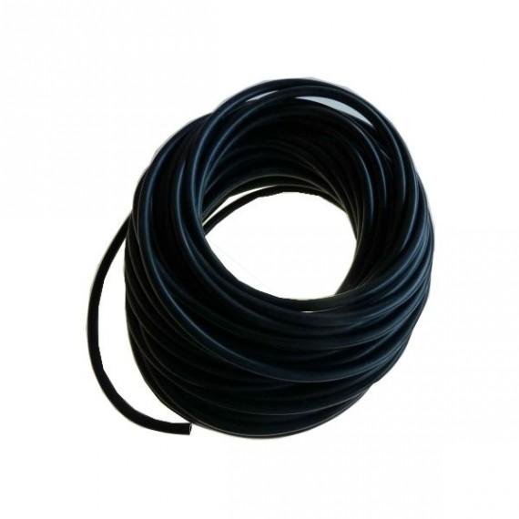 4mm NEGRO - Bobina Manguera de Depresión Longitud 50 metros - REDOX