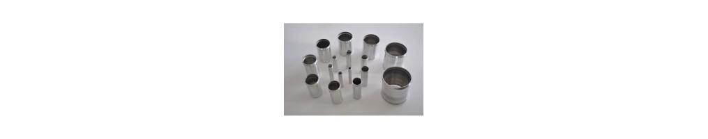 Mangas derechos aluminio